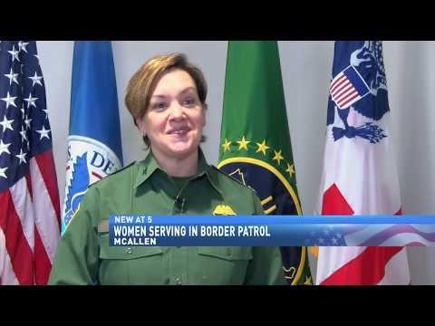 Women serving in border patrol
