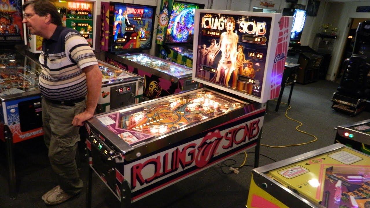 Rolling Stones Pinball Machine Grc Restoration Archive