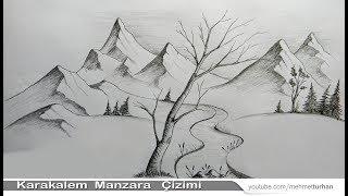 Video Karakalem manzara resmi / Nasıl çizilir? / How to drawing landscape picture? download MP3, 3GP, MP4, WEBM, AVI, FLV Februari 2018