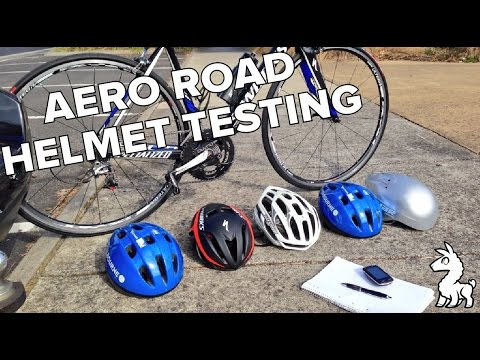 AERO ROAD HELMET TESTING