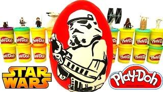 Star Wars Sürpriz Yumurta Oyun Hamuru - Star Wars Oyuncakları Han Solo Rey Chewbacca