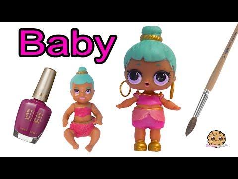 DIY Custom LOL Surprise Genie As Barbie Baby ! Painting Craft Video