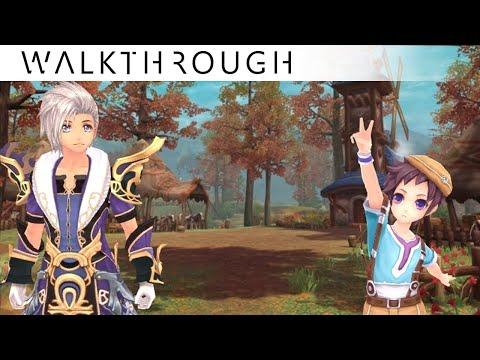 [Walkthrough] Aura Kingdom Lv.25 Daily Quest - Paddy Whack o' Lantern