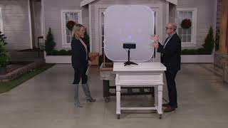 Mr. Christmas Indoor/Outdoor Virtual Projector with Pop-Up Screen on QVC Video
