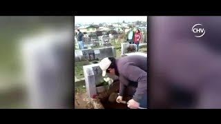 Viuda denuncia que enterraron a su esposo en sepultura equivocada | CHV NOTICIAS