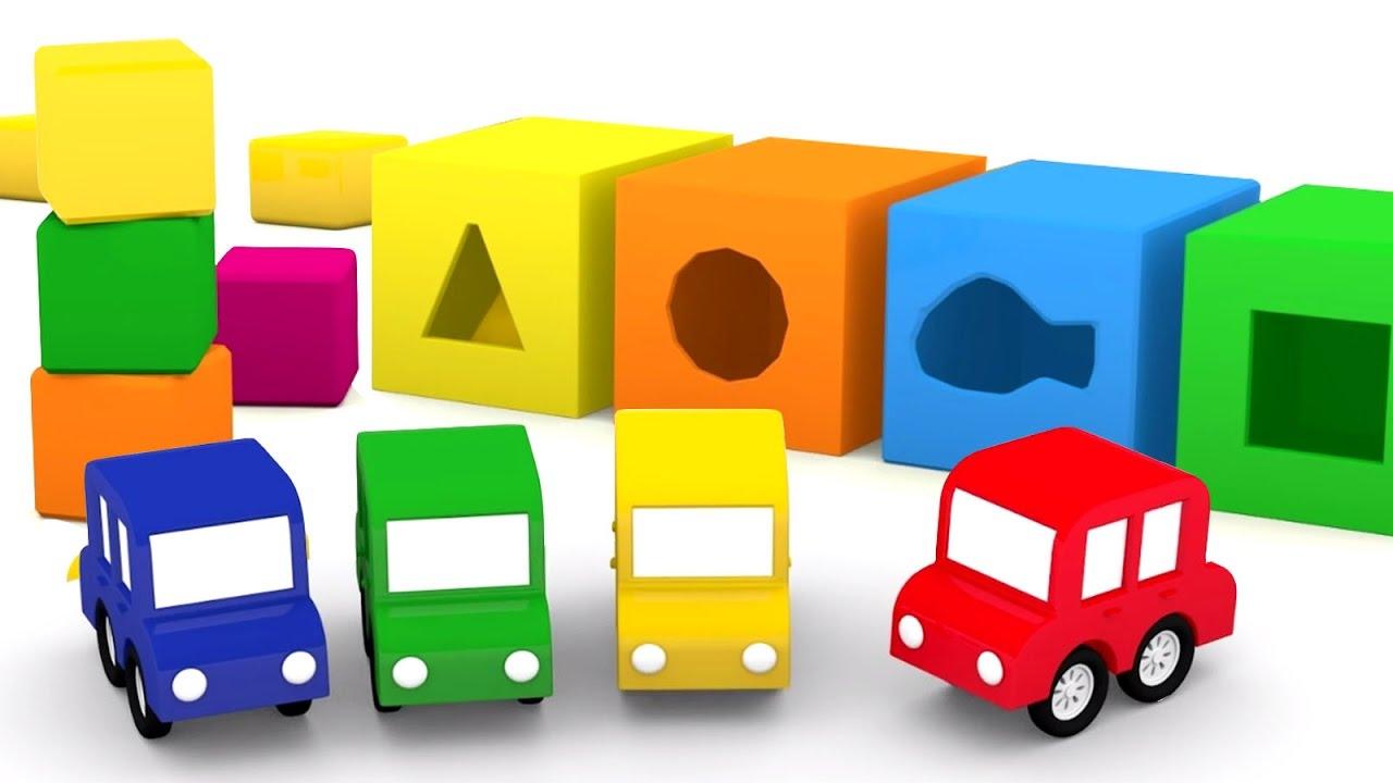 dessin anim en fran ais pour enfants de 4 voitures l 39 aire de jeux youtube. Black Bedroom Furniture Sets. Home Design Ideas