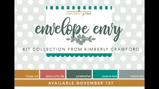 NEW! Sincerely Yours: Envelope Envy Kit from Papertrey Ink