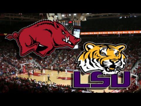 LSU Tigers Vs Arkansas Razorbacks Live Stream Play By Play & Reactions