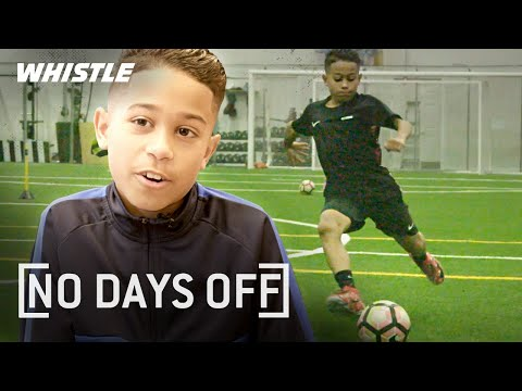 10-Year-Old AMAZING Soccer Skills  Future Barcelona STAR?