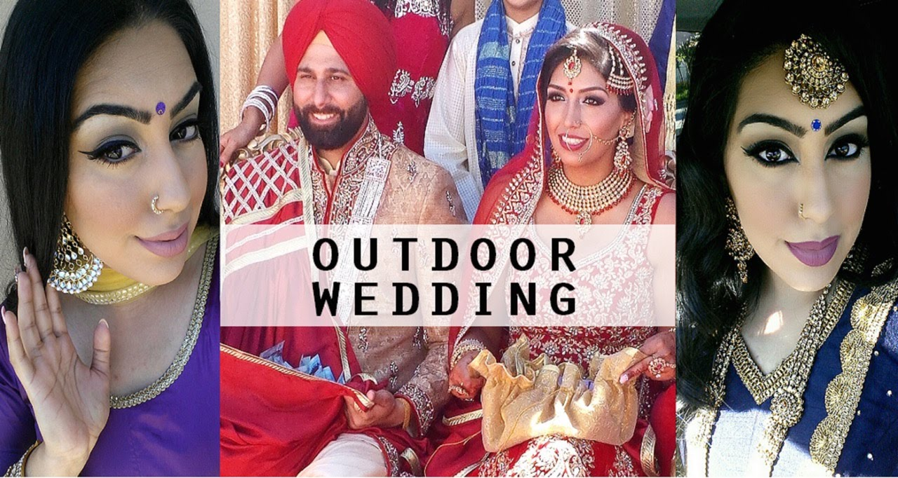 Vlog Beautiful Outdoor Sikh Wedding Keepingupwithmona