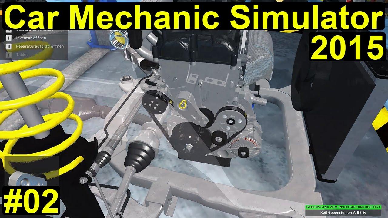 car mechanic simulator 2015 - ein kleiner zahnriemenwechsel #02