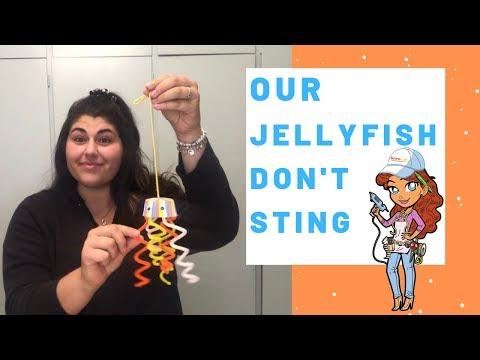 Jellyfish Craft Video / DIY Crafts By EconoCrafts