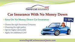 Car Insurance Companies With No Money Down Online