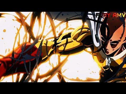 one-punch-man-season-2「amv」--monster---saitama-vs-elder-centipede-&-garou-vs-bang
