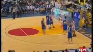 Lordy Tugade 3pt shot plus a foul