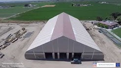New Life Christian Center by Sprung Structures. Rolling Cut Labs Work.