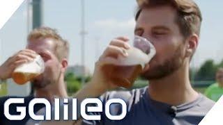 Mehr Energie durch alkoholfreies Bier? Sportgetränke im Selbstversuch   Galileo   ProSieben