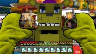 Realistic Minecraft - BECOMING FNAF FREDBEAR IN MINECRAFT! (Minecraft Roleplay)