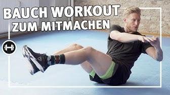 Bauchmuskeltraining für zuhause | 8 Minuten | Fitness & Kraftsport | Sport-Thieme