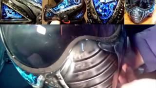 Покраска и аэрография шлема мотоцикла от PRORACING.su