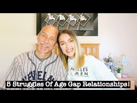 5 STRUGGLES OF AGE GAP RELATIONSHIPS!