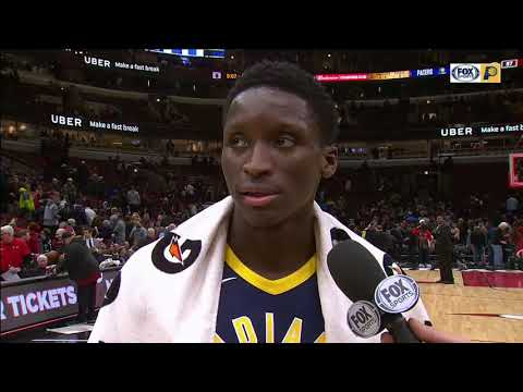 "Victor Oladipo on Myles Turner-Domas Sabonis one-two punch: ""It could be really special"""