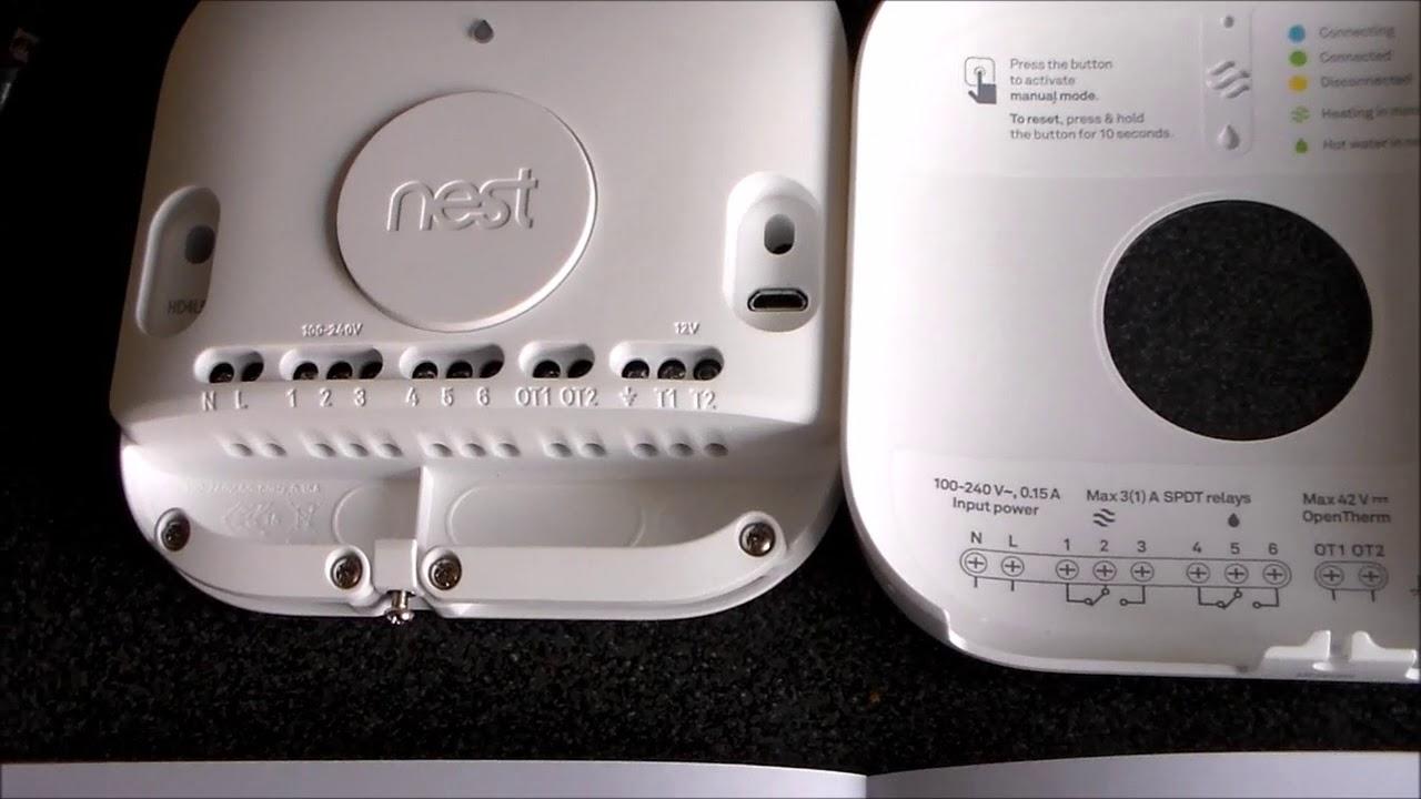 Nest Smart Thermostat Worcester Bosch Combi Installation