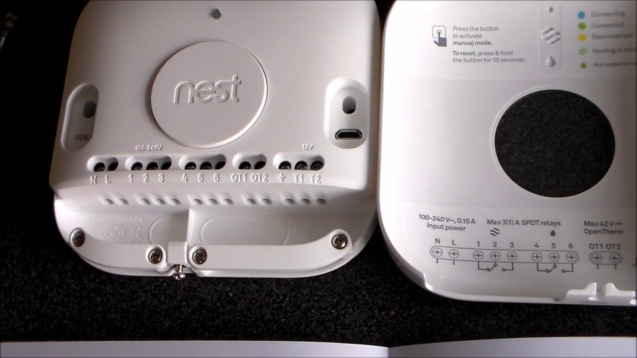 medium resolution of nest smart thermostat worcester bosch combi installation youtube nest 3 wiring diagram uk
