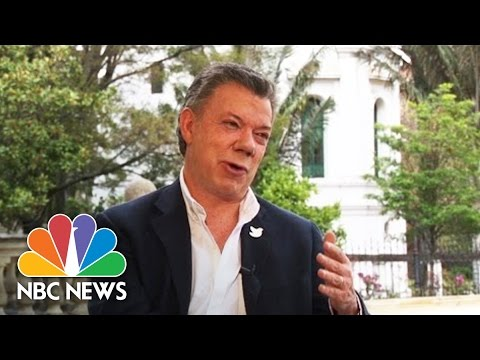 Colombian President Manuel Santos 'Confident' Voters Will Approve Peace Deal | NBC News
