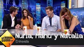 """Manu Tenorio bromea sobre su relación con Nuria Fergó: """"Era solo sexo"""" - El Hormiguero 3.0"""