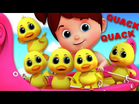 Duck Song | Junior Squad | Kindergarten Nursery Rhymes For Kids
