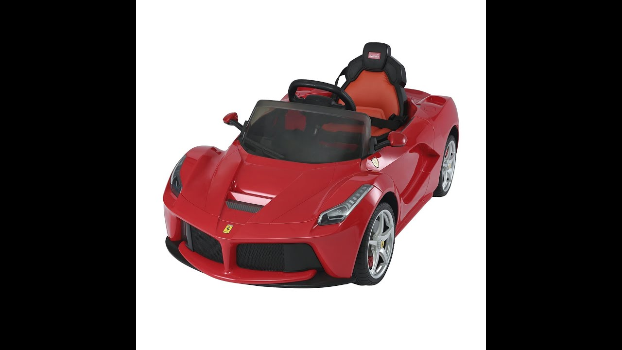 Aosom Ferrari Laferrari Kids Electric Ride On Car With And