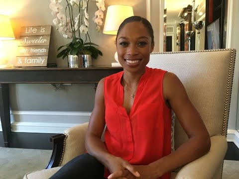 Allyson Felix talks about Rio Olympics and Encouraging Kids to Run