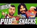 Irish People Taste - 'IRISH BEER SNACKS' - Pub Food!