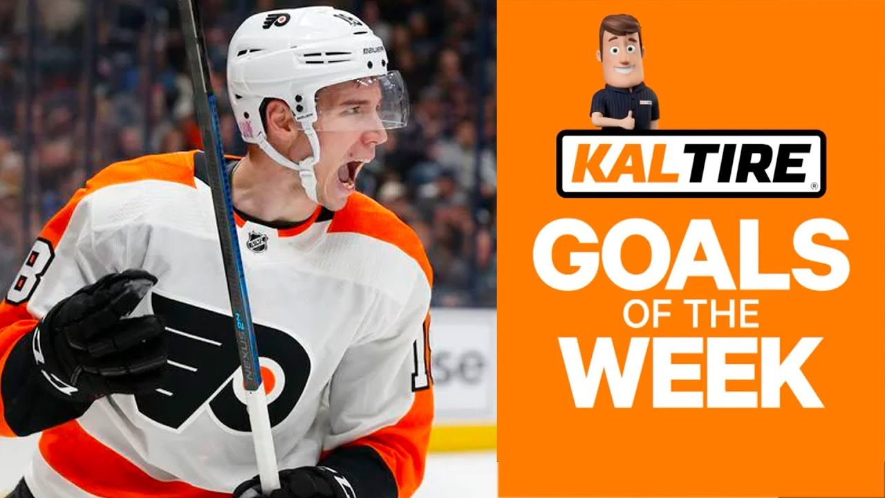 NHL Goals of the Week: Ivan Provorov's Phenomenal OT Winner
