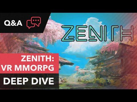 Deep Dive: Zenith – SWORD ART ONLINE Inspired VR MMORPG For Oculus Quest
