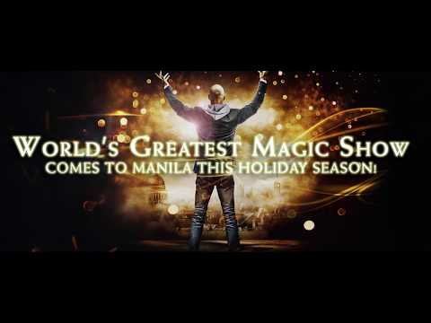 IMPOSSIBLE - World's Greatest Magic Show comes to MANILA!