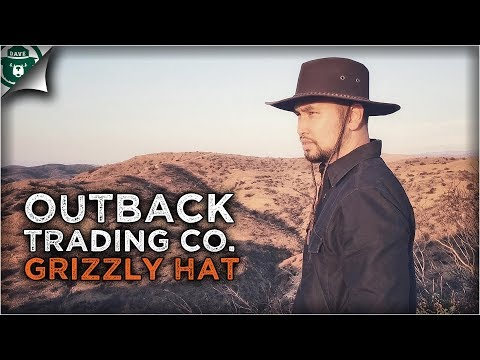 Outback Trading Company Grizzly Hat: Adventure/Buscraft/Outdoorsman Hat