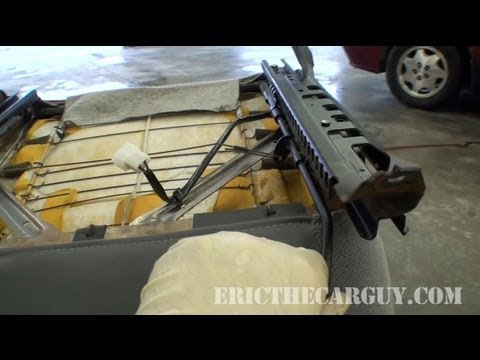 How a Manual Seat Adjustment Works  EricTheCarGuy  YouTube