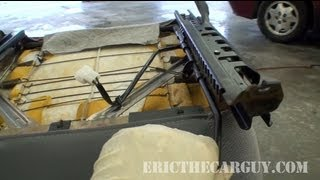 How a Manual Seat Adjustment Works - EricTheCarGuy