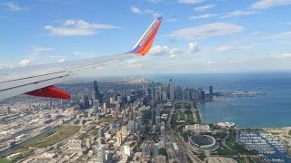 Landing at Chicago Midway (MDW) :: 737-700 :: Southwest Airlines