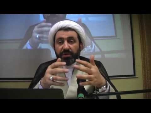 Knowing God, Session 1 by Sheikh Dr Shomali, Ottawa, 2nd April 2016, Ottawa