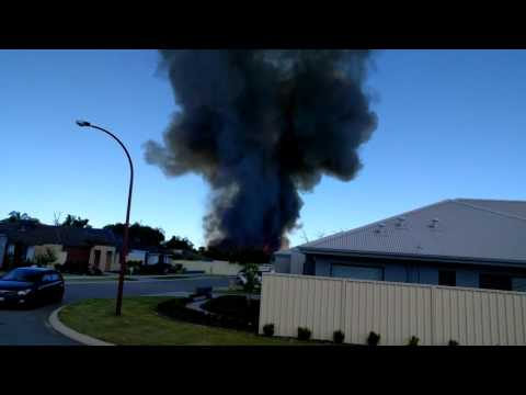 Canning Vale Fire 13/01/2016