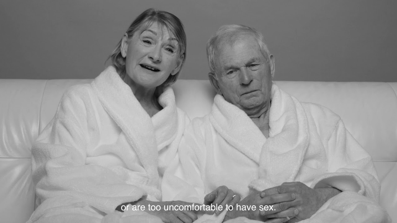 Let's talk the joy of later life sex - Chrissie and Roger