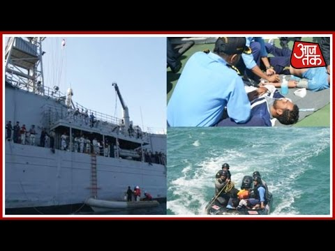 Indian Coast Guard Rescues Pakistani Commandos