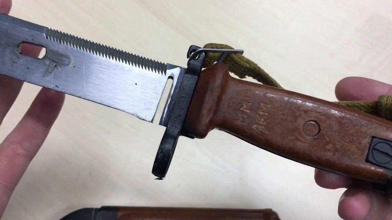 Штык-нож сувенирный (6х5) без пропила ак-74м