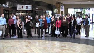 choir surprises mall shoppers random acts of culture