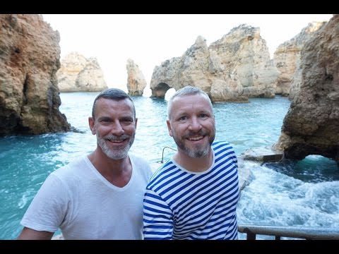 Algarve - Lagos town and beaches / Portugal Travel Vlog #37 / The Way We Saw It