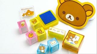 Fancy Rilakkuma Stamp Set from Japan