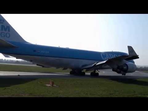 Flughafen Graz Boeing 747-400F KLM Cargo